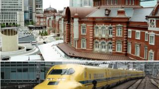ドクターイエローと東京駅