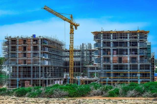 建築の現場