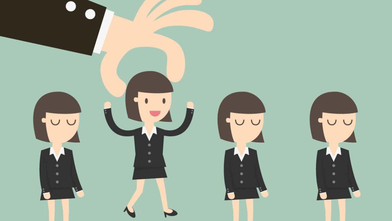 採用された女性社員