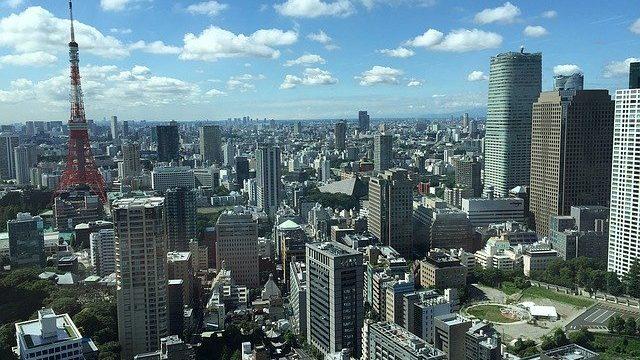 東京タワーをのぞむ絶景