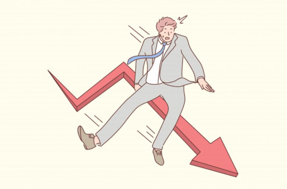 評価が下がる20代の男性ビジネスマン